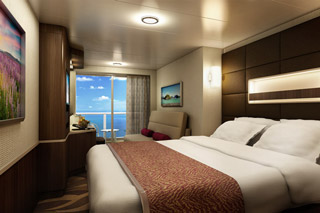 Suite cabin on Norwegian Escape