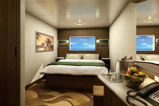 Oceanview cabin on Norwegian Escape