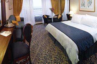 Suite cabin on Nautica