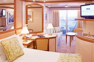 Suite cabin on Sea Princess
