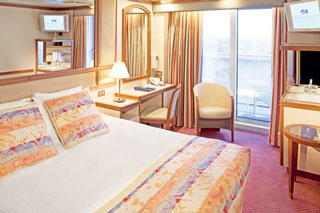 Balcony cabin on Pacific Princess