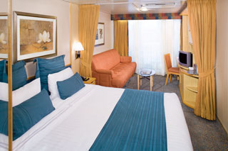 Superior Oceanview Stateroom with Balcony on Enchantment of the Seas