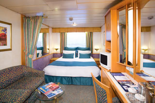 Large Oceanview Stateroom on Enchantment of the Seas