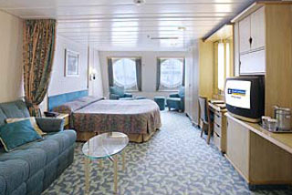 Family Oceanview Stateroom on Enchantment of the Seas