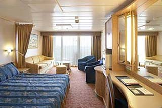 Junior Suite with Balcony on Enchantment of the Seas