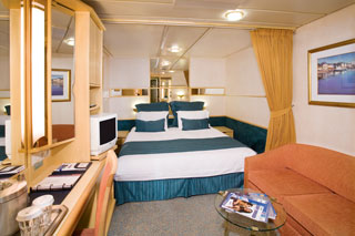 Large Interior Stateroom on Enchantment of the Seas