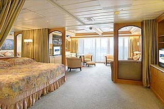 Owner's Suite with Balcony on Enchantment of the Seas