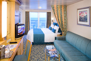 Superior Oceanview Stateroom with Balcony on Explorer of the Seas