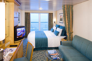 Deluxe Oceanview Stateroom with Balcony on Explorer of the Seas