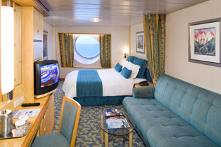Large Oceanview Stateroom on Explorer of the Seas