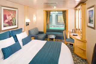 Promenade Stateroom on Explorer of the Seas