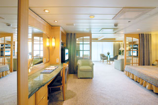 Owner's Suite with Balcony on Legend of the Seas