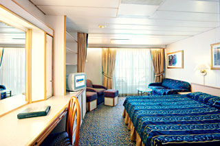 Junior Suite with Balcony on Majesty of the Seas