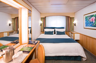 Oceanview Stateroom (Obstructed View) on Monarch of the Seas