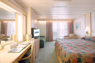 Junior Suite with Balcony on Monarch of the Seas