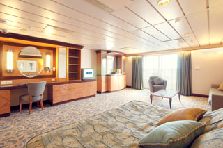 Owner's Suite with Balcony on Monarch of the Seas