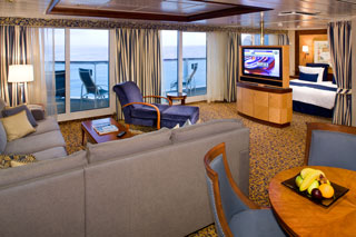 Cabins on Radiance of the Seas