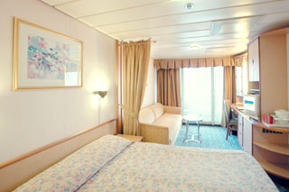 Superior Balcony Stateroom on Splendour of the Seas