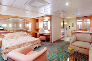 Grand Suite with Balcony on Splendour of the Seas