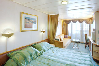 Balcony cabin on Vision of the Seas