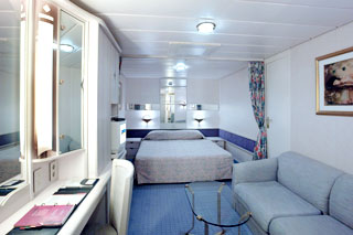 Superior Interior Stateroom on Vision of the Seas