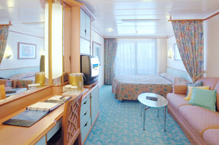 Deluxe Balcony Stateroom on Voyager of the Seas