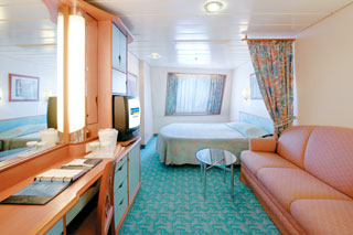 Large Oceanview Stateroom on Voyager of the Seas