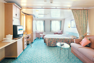 Oceanview cabin on Voyager of the Seas