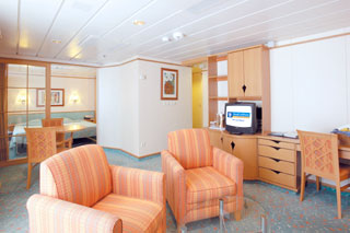 Royal Family Suite with Balcony on Voyager of the Seas