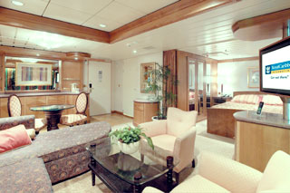 Owner's Suite with Balcony on Voyager of the Seas