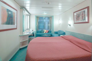 Promenade Stateroom on Voyager of the Seas