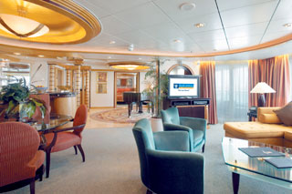 Royal Suite with Balcony on Voyager of the Seas