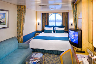 Oceanview cabin on Adventure of the Seas
