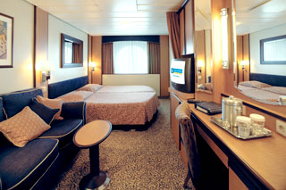 Oceanview cabin on Brilliance of the Seas