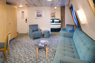 Family Oceanview Stateroom on Navigator of the Seas