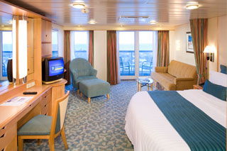 Junior Suite with Balcony on Navigator of the Seas