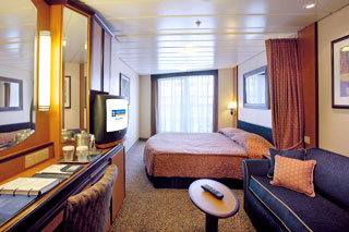 Superior Oceanview Stateroom with Balcony on Serenade of the Seas