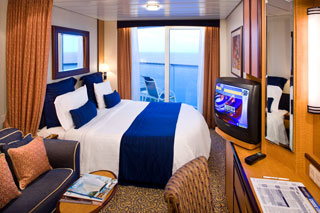 Deluxe Oceanview Stateroom with Balcony on Jewel of the Seas