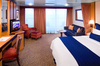 Junior Suite with Balcony on Jewel of the Seas