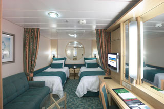 Interior Stateroom on Freedom of the Seas