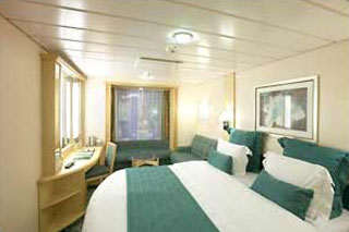 Promenade Stateroom on Freedom of the Seas