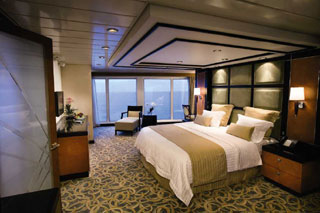 Royal Suite with Balcony on Freedom of the Seas