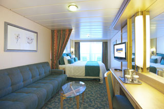 Superior Oceanview Stateroom with Balcony on Liberty of the Seas