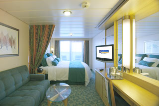 Deluxe Oceanview Stateroom with Balcony on Liberty of the Seas