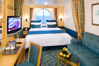 Large Oceanview Stateroom on Liberty of the Seas