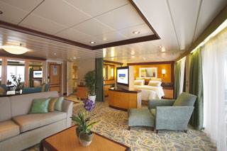 Owner's Suite with Balcony on Liberty of the Seas