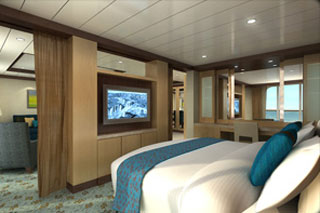 Owner's Suite with Balcony on Oasis of the Seas