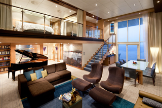 Royal Loft Suite with Balcony on Oasis of the Seas