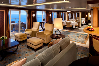 Royal Suite with Balcony on Oasis of the Seas
