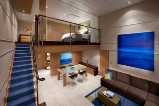 Sky Loft Suite with Balcony on Oasis of the Seas